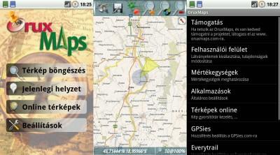 magyarország térkép szoftver OruxMaps az ingyenes térképszoftver (magyarul)   LOGOUT.hu  magyarország térkép szoftver