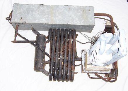 Pb gázzal működő hűtőszekrény használt
