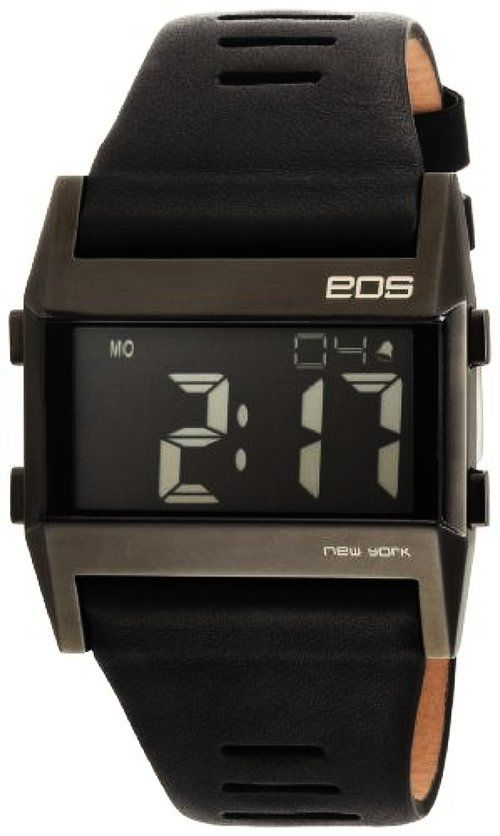 EOS New York 260SBLK Unisex Nocturne Tre L Digital Display Black modern  forma mégis nagyon egyben van 55a35e3579