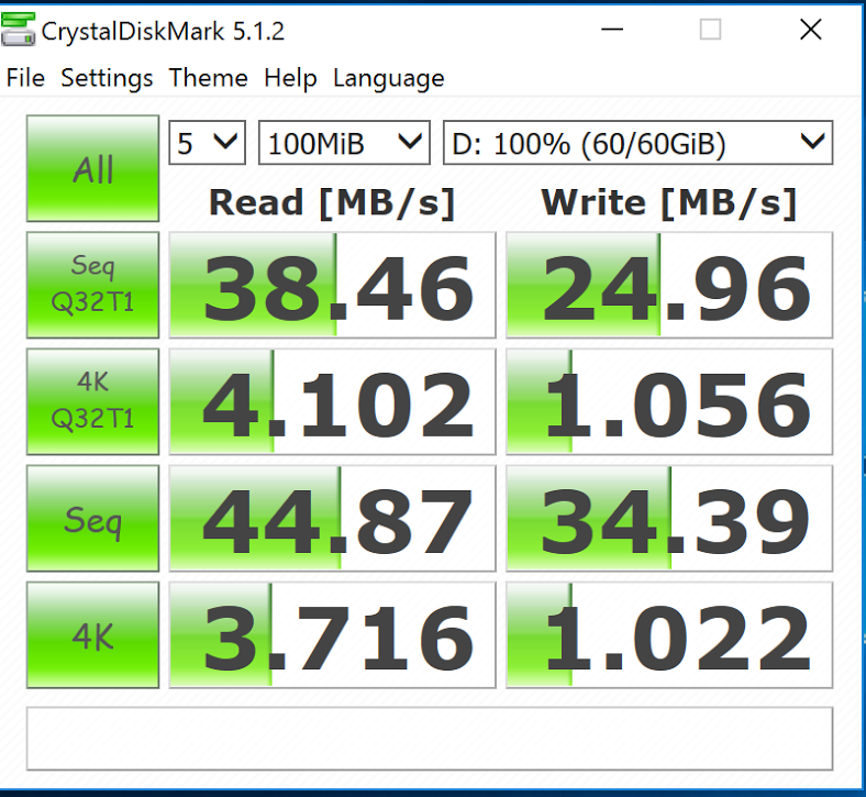 USB Type-C OTG + external HDD SSD : poor performances - page 2