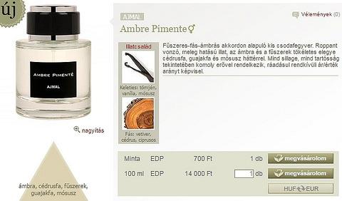 Mindenki figyelmébe ajánlanám az Ajmar új parfümjét f11c44101f