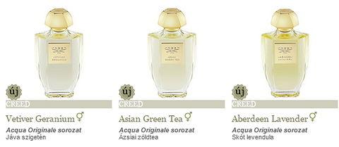 A Neroli 3 új Creed parfümöt rakott fel c4d71aeb76
