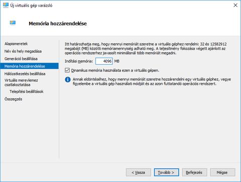 9f44f53caf Bár a Linux jóval kevesebbel is beérné (1 GB bőven elegendő), már csak  azért is, mert ez nem egy éles, működő szerver lesz, mégis bőkezűen bánok  vele, kap 4 ...