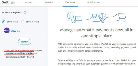 A következő képernyőn bal oldalt ebbe a szövegben erre a linkre kattintás   Can t find what you re looking for  Try the manage automatic payments page. b464f47447